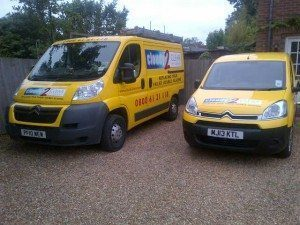 investment in new van at cloudy2clear windows