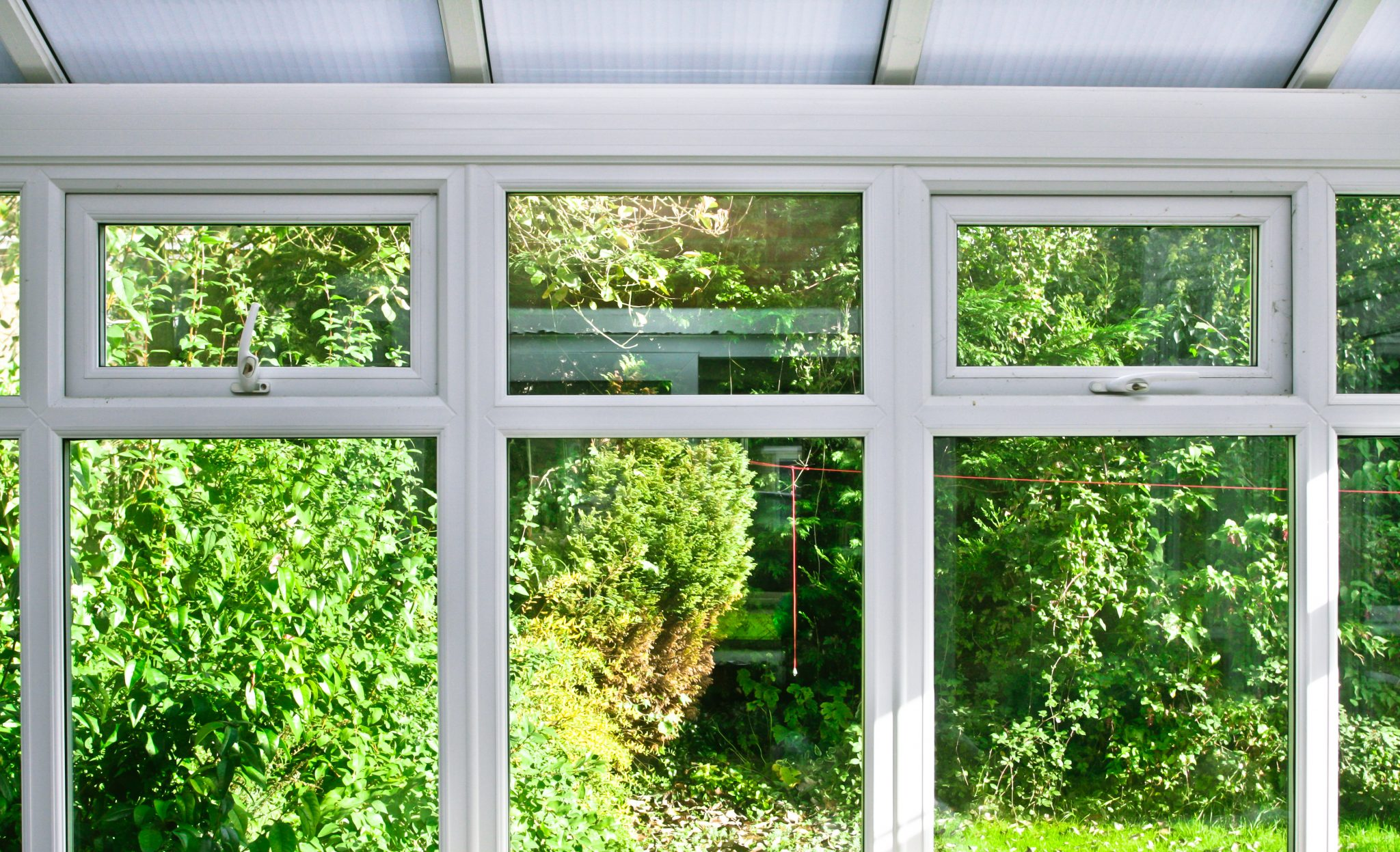 Modern home conservatory example shot