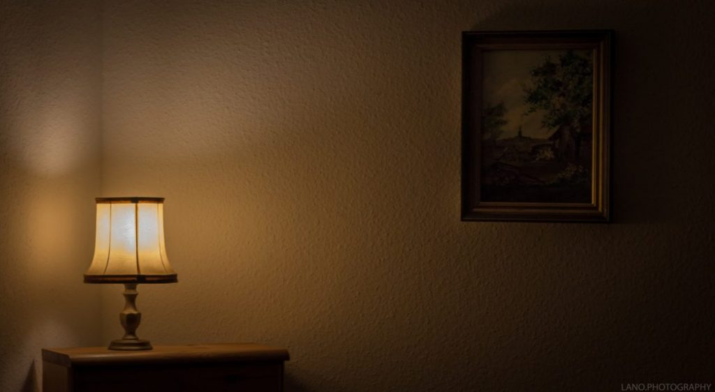 keep a light on for security in your home