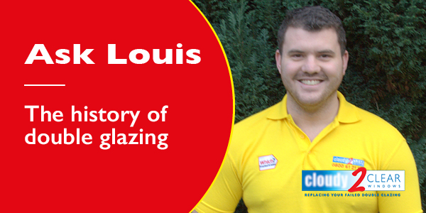 history of double glazing