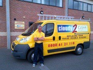 Cloudy2Clear Reading Van, Berkshire