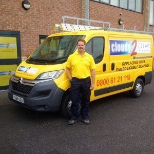 RICHARD POWER VAN PIC enfield cloudy2clear windows