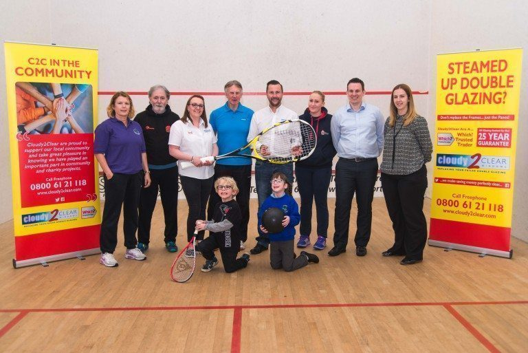 PHOTO - Leyland Deaf Squash for Primary School Children sponsored by Cloudy2ClearUK