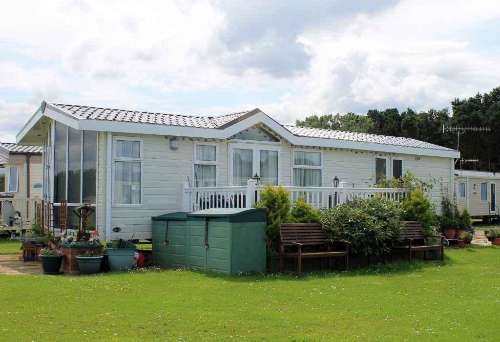 static caravan holiday