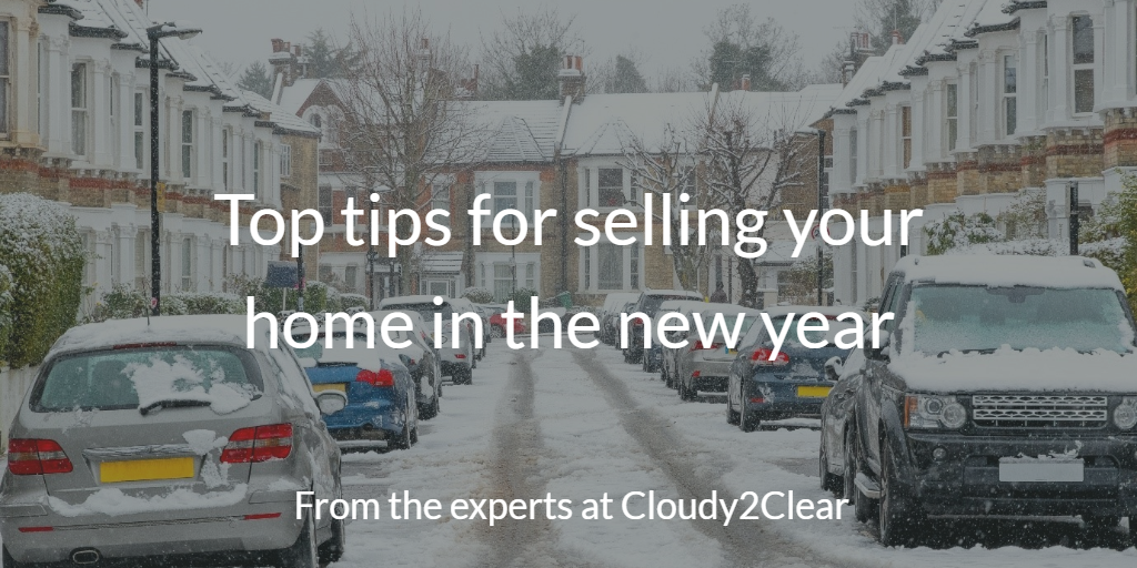 top tips for selling your home in the new year